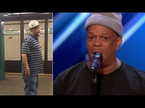 Download The Viral NYC Subway Singer FINALLY Get's The Stage He Deserves | America's Got Talent 2017 HD Mp4 3GP Video and MP3