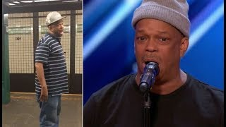 Video The Viral NYC Subway Singer FINALLY Get's The Stage He Deserves | America's Got Talent 2017 MP3, 3GP, MP4, WEBM, AVI, FLV Maret 2019