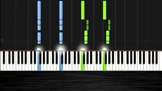 Martin Garrix - Animals Piano Tutorial by PlutaX - Synthesia