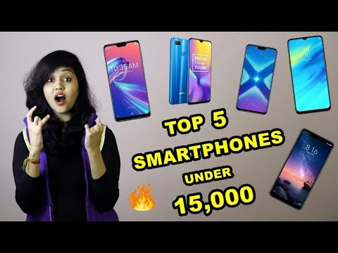 Top 5 Best Smartphones under 15000 Rupees | DECEMBER 2018 |