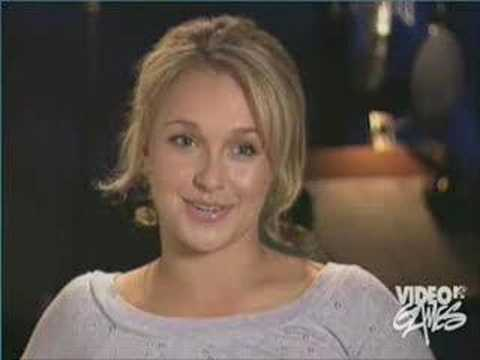 Kairi - Hayden Panettiere interview shes the voice of Kairi.