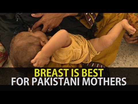 Breast Is Best For Pakistani Mothers