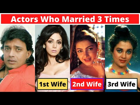 New List Of 6 Bollywood Actors Who Got Married Three Times Or More
