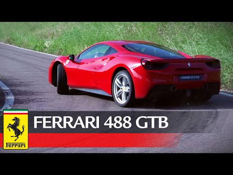ferrari 488 gtb:blisteringly fast on the track, exhilarating on the road