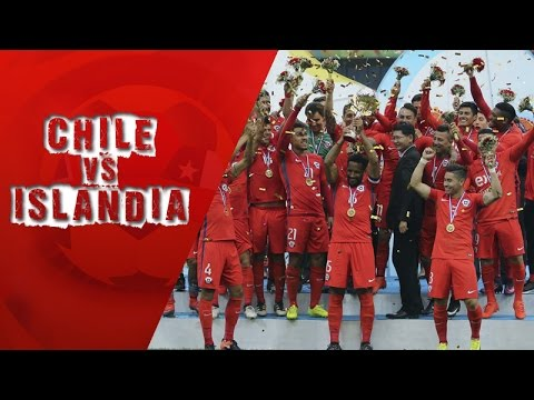 Chile 1 - 0 Islandia   Final China Cup 2017