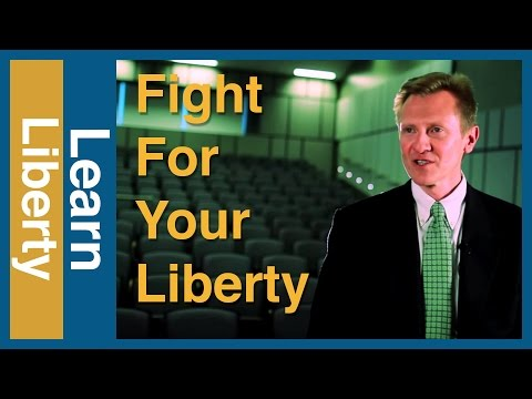 What Would It Take For You To Fight For Your Liberty?