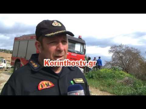 Video - Απανθρακωμένος άντρας βρέθηκε σε καμένο αγροτικό στο Ζευγολατιό