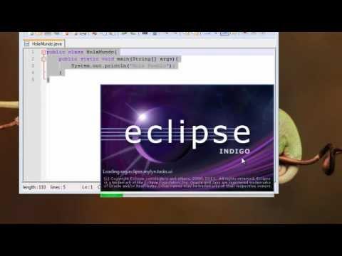 Tutorial Java – 2 – Crear Primer Programa e Instalar Eclipse