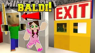 Video Minecraft: ESCAPE BALDI'S SCHOOL!!! (BALDI'S BASICS!) Mini-Game MP3, 3GP, MP4, WEBM, AVI, FLV November 2018
