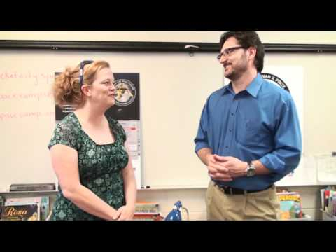 Tim Pickens interviews 4th grade teacher Karen McDonald at Valley Intermediate School -  2