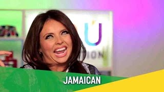 Jesy Nelson Trying to Do a Jamaican Accent