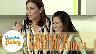 K and Angeline talk about the time when they were affected by flash floods   Magandang Buhay
