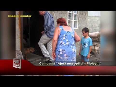 """Campania """"Ajută un copil din Ploieşti"""""""