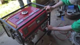 9. Honda EM5000S Generator Set