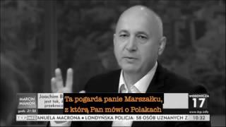 Joachim Brudziński z pogardą o Polakach!