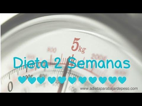 Peso ideal - Dieta 2 Semanas. Baja de peso rápido y saludable.