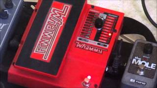 Different settings on the Digitech Whammy 5. Random riffs, nothing special. Just wanted to share how it sounds on bass. You can do a ton of good stuff with i...