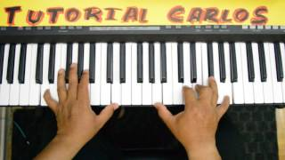 Tengo Fe Roberto Orellana piano Tutorial Carlos
