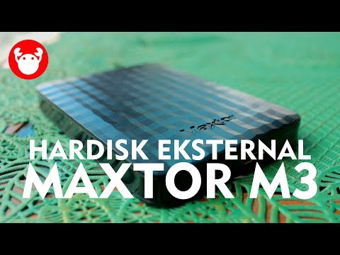 Review Hardisk Eksternal Murah: Maxtor M3 1TB