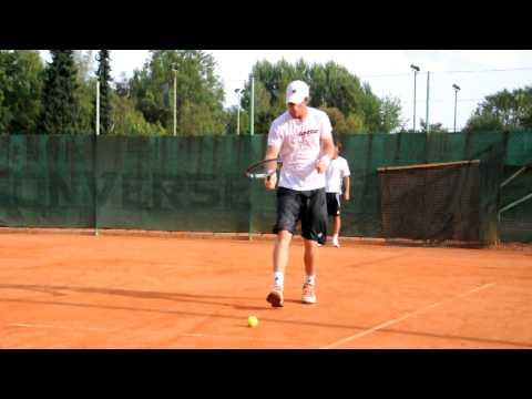 Blaz Kavcic entrenando con Adrian Voinea