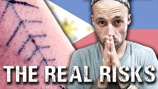 Video HIV from Tattooing? | Is a Traditional Tattoo safe? Philippines travel vlog MP3, 3GP, MP4, WEBM, AVI, FLV Juni 2018