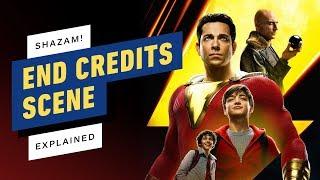 Shazam! End Credits Scene Explained (SPOILERS!)