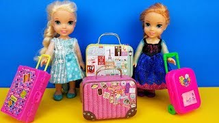 Video Vacation packing ! Elsa and Anna toddlers - shopping for luggage - suitcases - Barbie is the seller MP3, 3GP, MP4, WEBM, AVI, FLV Juni 2019