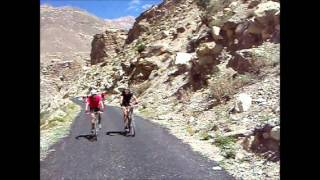 Kaza India  City new picture : 4.Cycling MTB India Himalaya Spiti Kaza - Dankar - Nako 23 jan.wmv