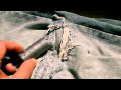 comment reparer les genoux d'un jean