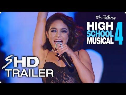 HIGH SCHOOL MUSICAL 4 Teaser Trailer Concept (2021) Zac Efron, Vanessa Hudgens Disney Musical Movie