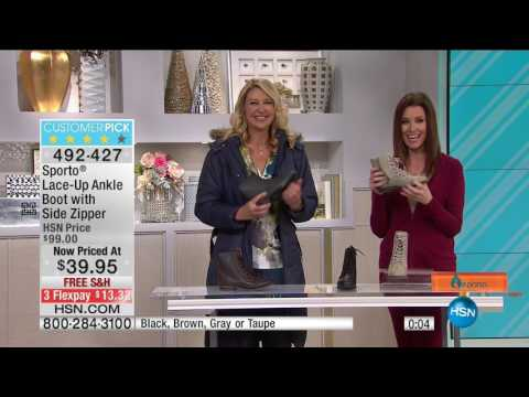 HSN | HSN Today: Sporto Boots 12.09.2016 - 08 AM