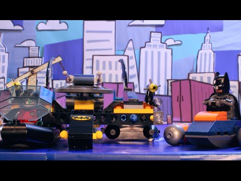 DC Comics: Batboat - LEGO The Build Zone - Season 2 Episode 5 (76034) (видео)