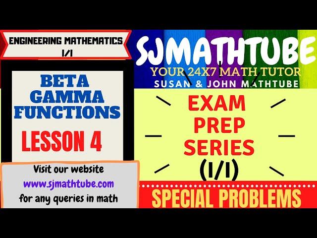 Beta Gamma Function (4)