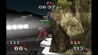 20GX- Walljump falcon punch