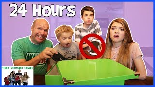 24 Hours No Electronics No Technology / That YouTub3 Family
