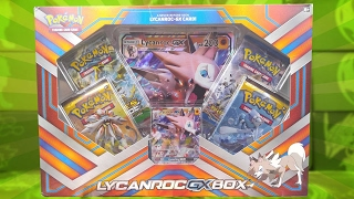OPENING AN EARLY LYCANROC GX BOX OF POKEMON CARDS!! by The Pokémon Evolutionaries