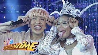 Video It's Showtime Miss Q & A: Vice and Elsa Droga's funny conversation MP3, 3GP, MP4, WEBM, AVI, FLV Juli 2018