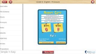 Grade 6 English YouTube video