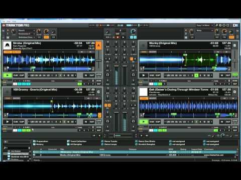 Mix On 4 TRAKTOR decks - Progressive house mix 2013(djkimh)