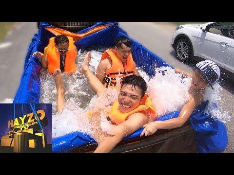 HAYZOtv: Cùng ' NTN Vlogs ' Thử Tắm Bể Bơi Di Động (видео)