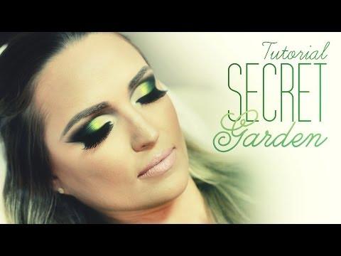 Vídeo de Maquiagem - Tutorial Make Secret Garden