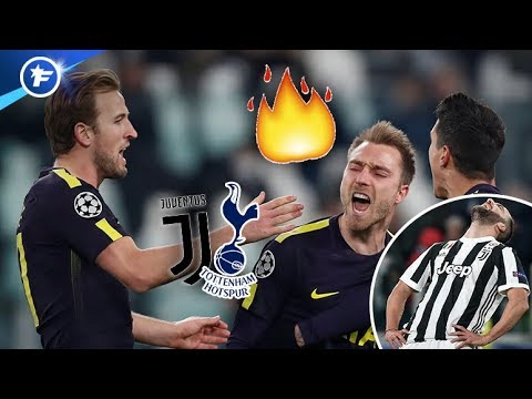 Kane et Eriksen ont fait très mal à la Juventus | Revue de presse