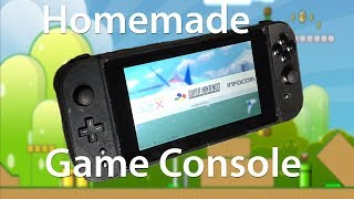Homemade Game Console-