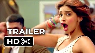 Khoobsurat Official Trailer 1 (2014) - Sonam Kapoor Romantic Comedy HD