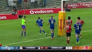 Stormers v Sunwolves Rd.7 2016 | Super Rugby Video