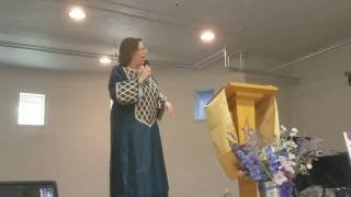 Senior Pastor Gwendolyn Wheeler