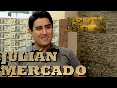 JULIAN MERCADO LISTO PARA ABRAZAR LA FAMA - Pepe's Office - Thumbnail