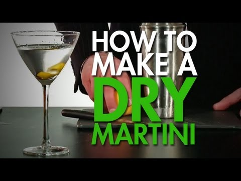 How To: Make The Classic Dry Martini