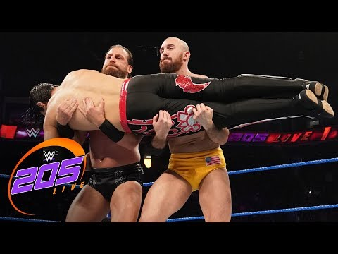 Akira Tozawa Vs. Humberto Carrillo Vs. Oney Lorcan Vs. Drew Gulak: WWE 205 Live, June 11, 2019