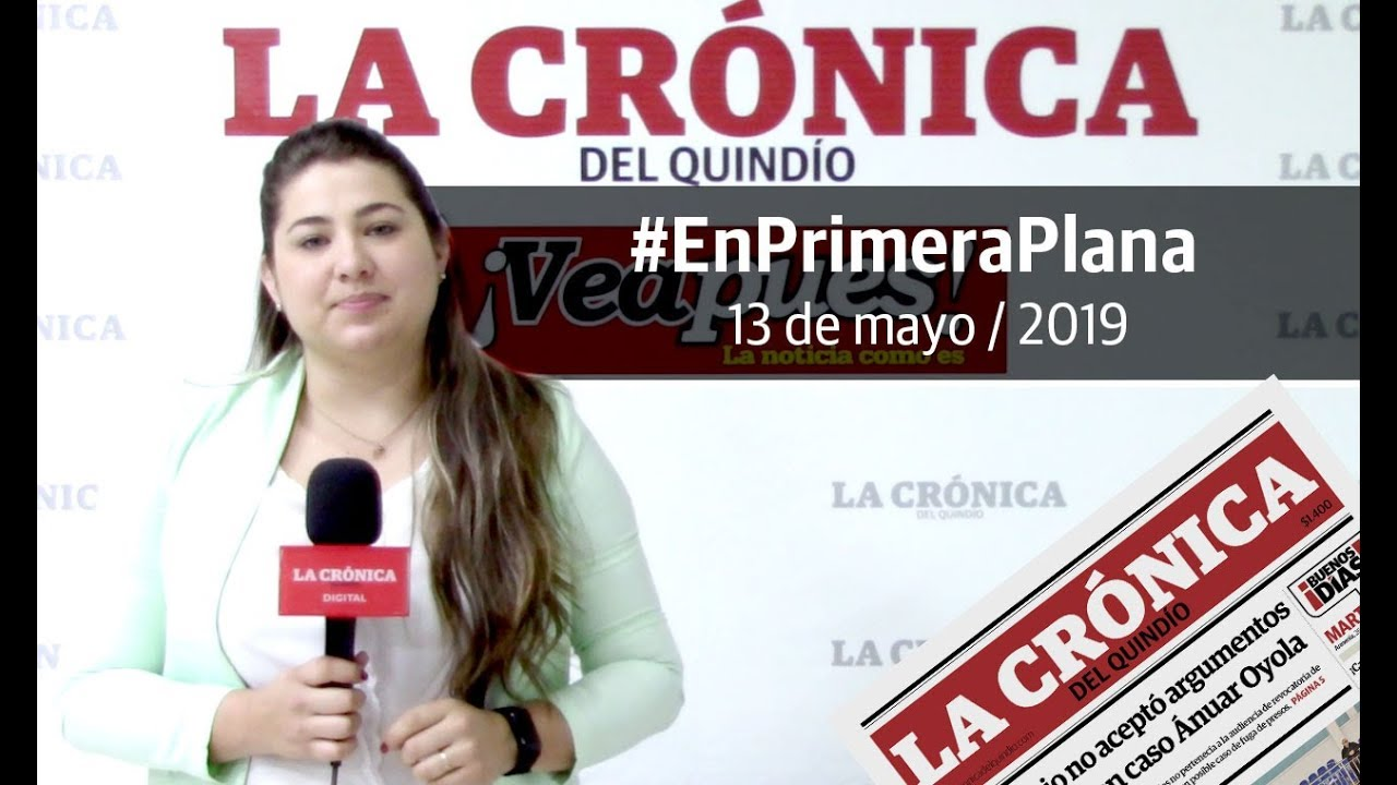 En Primera Plana: lo que será noticia este martes 14 de mayo